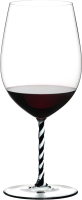 Бокал Riedel Fatto a Mano Bordeaux Grand Cru / 4900/00BWT (черный/белый) -