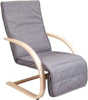 Кресло-качалка Седия Grand (ткань серый) -