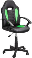 Кресло геймерское Седия Race (салатовый/черный) -