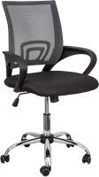 Кресло офисное Седия Ricci Chrome (серый/черный) -