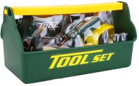 Набор инструментов игрушечный Tegole Юный строитель / T115(G) -