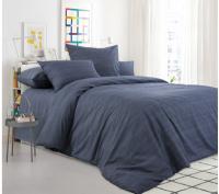 Комплект постельного белья Моё бельё Классик Эко 20493/7 1.5 (графит) -