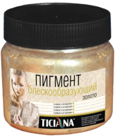 Пигмент Ticiana Блескообразующий (100г, золото) -