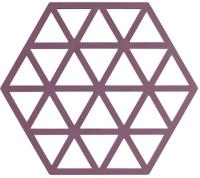 Подставка под горячее Zone Trivet Triangles Beetroot / 330368 -