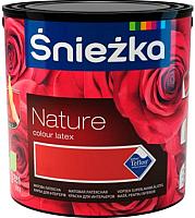 Краска Sniezka Nature 163T (2.5л, лососевая азалия) -