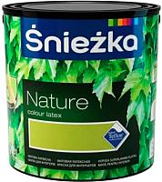 Краска Sniezka Nature 165T (2.5л, хлопья гартензии) -