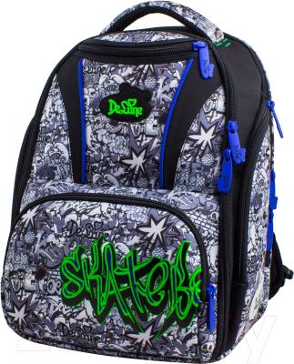 8cb6518b5468 DeLune 8-107 (серый) Школьный рюкзак купить в Минске