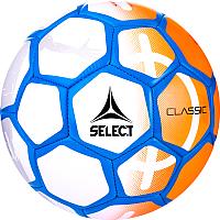 Футбольный мяч Select Classic (размер 5, оранжевый/синий/черный) -