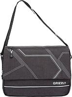 Сумка Grizzly MM-805-4 (черный/серый) -