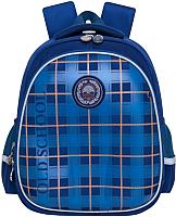 Школьный рюкзак Grizzly RA-878-1 (синий) -