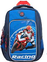 Сумка/рюкзак/чемодан Grizzly RB-861-1  (синий) -