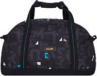 Спортивная сумка Grizzly TU-800-4 (бирюзовые кубики) -