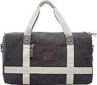 Дорожная сумка Grizzly TU-851-3 (черный/бежевый) -