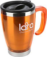 Термокружка Lara LR04-38 (оранжевый) -