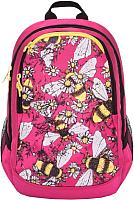 Школьный рюкзак Grizzly RD-843-2 (жимолость) -