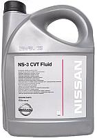 Трансмиссионное масло Nissan CVT NS-3 / KE90999943 (5л) -