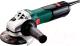Профессиональная угловая шлифмашина Metabo W 9-125 (600376010) -