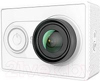 Экшн-камера YI Action Camera Basic Edition / Z15FSK10XY (с влагозащитным чехлом, белый) -