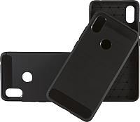 Чехол-накладка Case Brushed Line для Redmi S2 (матовый черный) -