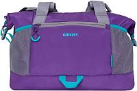 Спортивная сумка Grizzly TD-841-2 (фиолетовый) -