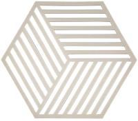 Подставка под горячее Zone Trivet Hexagon / 331282 (светло-серый) -