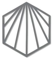 Подставка под горячее Zone Trivet Shell Ракушка / 331983 (серый) -