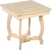 Журнальный столик для бани Банные Штучки Домино складной / 32444 -
