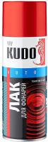Лак автомобильный Kudo Для тонировки фар (520мл, черный) -