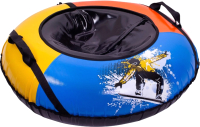 Тюбинг-ватрушка Тяни-Толкай 930мм Fly (тент, Кабат) -