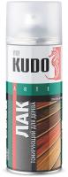 Лак универсальный Kudo Тонирующий для дерева. Акриловый (520мл, орех) -