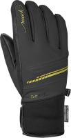 Перчатки лыжные Reusch Tomke Stormbloxx / 4931112 7707 (р-р 6.5, Black/Gold) -