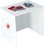 Письменный стол Polini Kids Marvel 4105 Человек паук (белый) -