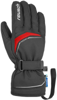 Перчатки лыжные Reusch Primus R-Tex XT / 4801224 7705 (р-р 11, Black/Fire Red) -