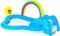 Водный игровой центр Bestway Rainbow n 'Shine 53092 (257x145x91) -