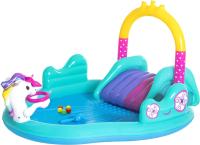 Водный игровой центр Bestway Волшебный единорог 53097 (274x198x137) -