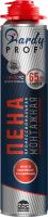 Пена монтажная HARDY 65 Профессиональная Всесезонная (1л) -
