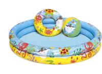 Надувной бассейн Bestway Play Pool Set 51124 (122x20) -