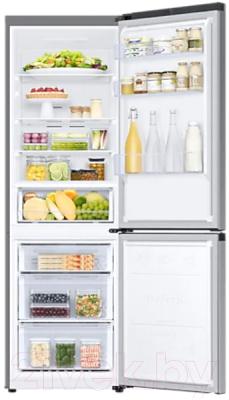 Холодильник с морозильником Samsung RB34T670FSA/WT