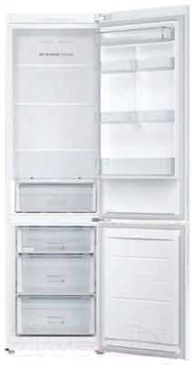 Холодильник с морозильником Samsung RB37A50N0WW/WT