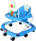 Ходунки Alis Весело шагать 8 с силиконовыми колесами (синий) -