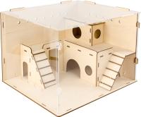 Клетка для грызунов Woody Домик для хомячка / 06015 -