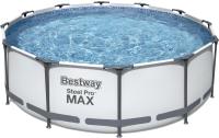 Каркасный бассейн Bestway 56418 (366x100, с фильтр-насосом и лестницей) -