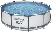 Каркасный бассейн Bestway Steel Pro 56260 (366x100, с фильтр-насосом) -