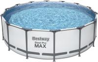 Каркасный бассейн Bestway Steel Pro Max 5612X (427x122, с фильтр-насосом и лестницей) -