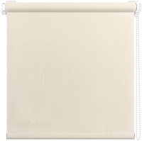 Рулонная штора АС МАРТ Шатунг 43x160 (кремовый) -
