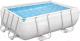 Каркасный бассейн Bestway Power Steel 56629 (282x196x84, с фильтр-насосом) -