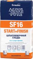 Шпатлевка Sniezka Acryl Putz Start+Finish SF16 (5кг) -