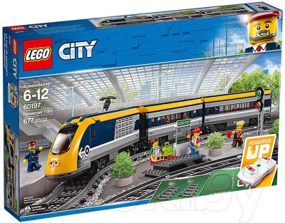Lego City Пассажирский поезд 60197 Конструктор ...