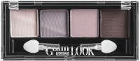 Палетка теней для век LUXVISAGE Glam Look тон 04 4-х цветные (4г) -