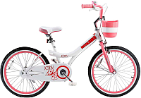 Детский велосипед Royalbaby Jenny Steel With 2018 (20, белый/розовый) -